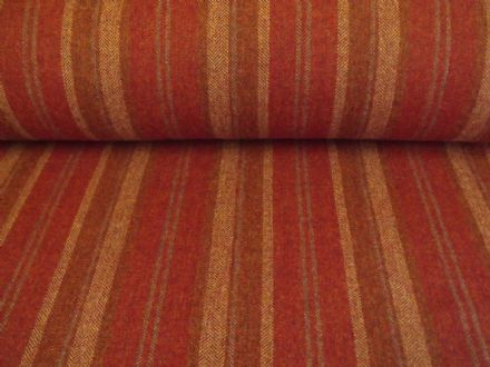 Wool Tweed Stripe Design Fabric AZ43